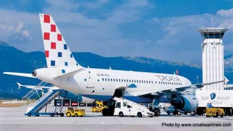 Croatia Airlines airplane