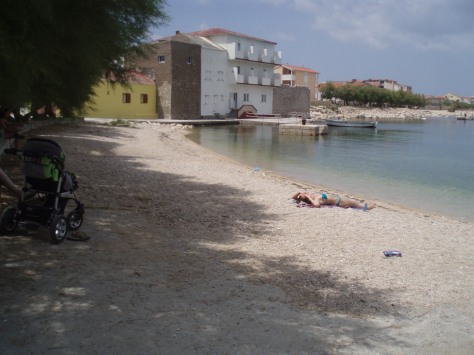 Ražanac in the summer